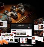 Fattsuhi | Japanese Sushi Restaurant WordPress Theme