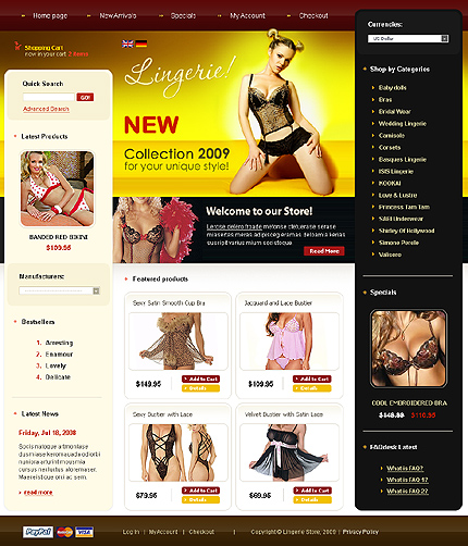 CRELoaded Template Main Page
