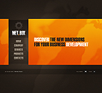 Flash CMS Template Template #26038