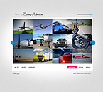 Flash CMS Template Template #27204