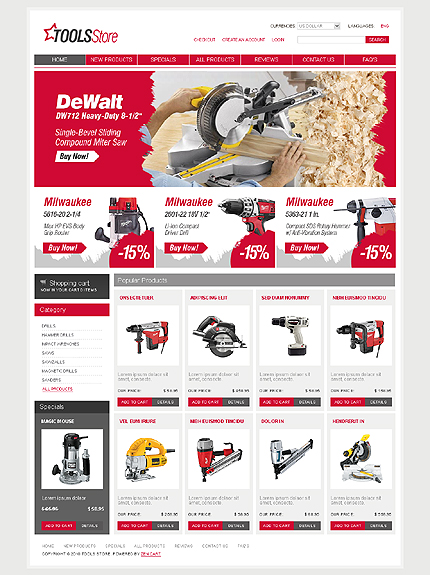 Flash 8 Wide Templates Maintenance Services Tools & Equipment website inspirations at your coffee break? Browse for more Zen Cart #templates! // Regular price: $139 // Sources available:.SWF,  .PSD, .FLA, .PHP #Flash 8 #Wide Templates #Maintenance Services #Tools & Equipment #Zen Cart