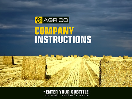 Agriculture Powerpoint Template 29322