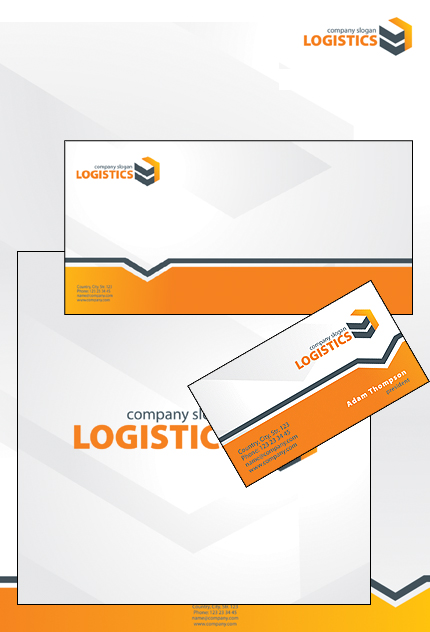 Transportation website inspirations at your coffee break? Browse for more Corporate Identity #templates! // Regular price: $35 // Sources available: .PSD, .CDR #Transportation #Corporate Identity