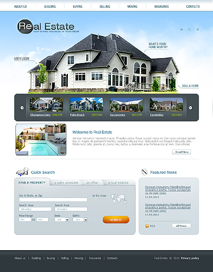 Real Estate CSS Swish Animated Wide Templates SWiSHmax4 Templates website inspirations at your coffee break? Browse for more SWiSH Animated #templates! // Regular price: $58 // Sources available:.SWF,  .HTML,  .PSD, .SWI #Real Estate #CSS #Swish Animated #Wide Templates #SWiSHmax4 Templates #SWiSH Animated