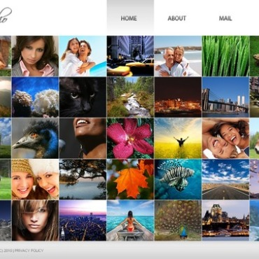Photo Gallery Template # 32621