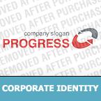 Corporate Identity Template #32709