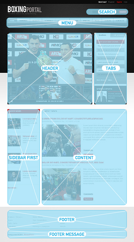 Portal Sport Most Popular Wide Templates Drupal Templates jQuery Templates website inspirations at your coffee break? Browse for more Drupal #templates! // Regular price: $64 // Sources available: .PSD, .PHP #Portal #Sport #Most Popular #Wide Templates #Drupal Templates #jQuery Templates #Drupal