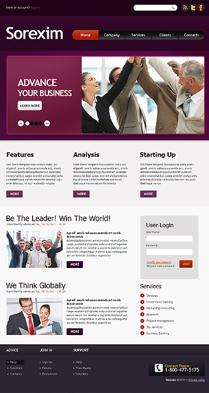 Business Wide Templates Drupal Templates jQuery Templates website inspirations at your coffee break? Browse for more Drupal #templates! // Regular price: $64 // Sources available: .PSD, .PHP #Business #Wide Templates #Drupal Templates #jQuery Templates #Drupal