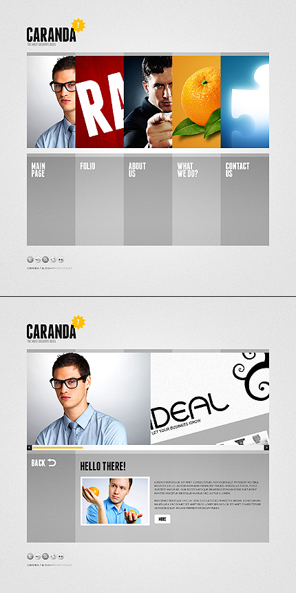 Flash Powerpoint Templates