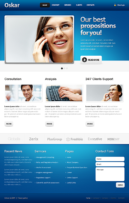 Business Most Popular Wide Templates Drupal Templates website inspirations at your coffee break? Browse for more Drupal #templates! // Regular price: $65 // Sources available: .PSD, .PHP #Business #Most Popular #Wide Templates #Drupal Templates #Drupal