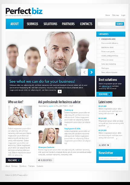 Business Most Popular Wide Templates Drupal Templates website inspirations at your coffee break? Browse for more Drupal #templates! // Regular price: $64 // Sources available: .PSD, .PHP #Business #Most Popular #Wide Templates #Drupal Templates #Drupal
