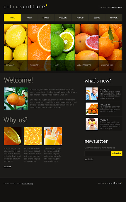 Food & Drink Agriculture Most Popular Wide Templates Drupal Templates jQuery Templates website inspirations at your coffee break? Browse for more Drupal #templates! // Regular price: $64 // Sources available: .PSD, .PHP #Food & Drink #Agriculture #Most Popular #Wide Templates #Drupal Templates #jQuery Templates #Drupal