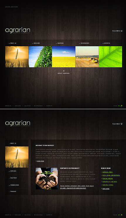 Agriculture CSS Most Popular Dynamic Swish Wide Templates SWiSHmax4 Templates website inspirations at your coffee break? Browse for more Dynamic SWiSH Site #templates! // Regular price: $63 // Sources available:.SWF,  .HTML,  .PSD, .SWI #Agriculture #CSS #Most Popular #Dynamic Swish #Wide Templates #SWiSHmax4 Templates #Dynamic SWiSH Site