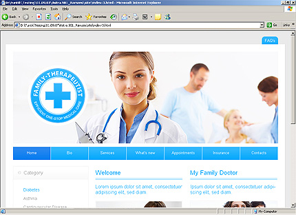 Medical CSS Most Popular Wide Templates SWiSHmax4 Templates website inspirations at your coffee break? Browse for more SWiSH Animated #templates! // Regular price: $59 // Sources available:.SWF,  .HTML,  .PSD, .SWI #Medical #CSS #Most Popular #Wide Templates #SWiSHmax4 Templates #SWiSH Animated