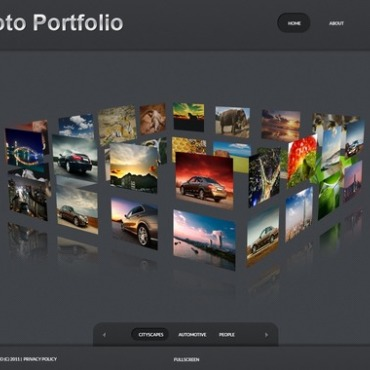Photo Gallery Template # 34586