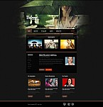 Stretched Flash CMS Theme Template #35209
