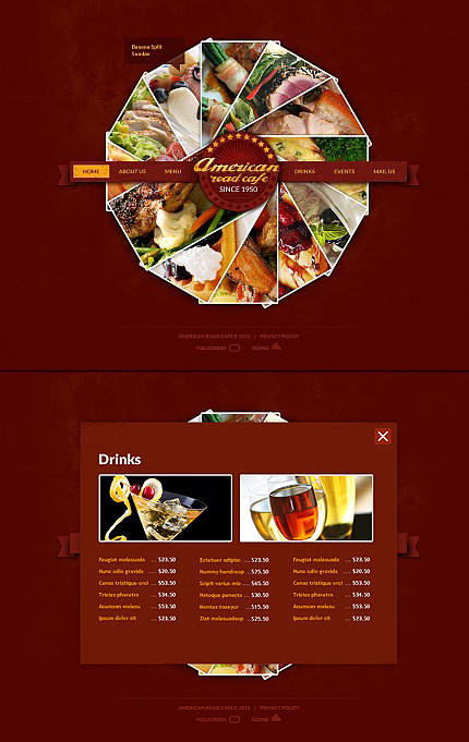 Cafe and Restaurant Dynamic Flash Most Popular Premium Templates XML Flash Site Wide Templates website inspirations at your coffee break? Browse for more Flash CMS Template #templates! // Regular price: $99 // Sources available:.SWF, .FLA, .XFL #Cafe and Restaurant #Dynamic Flash #Most Popular #Premium Templates #XML Flash Site #Wide Templates #Flash CMS Template