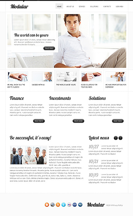 Business Wide Templates Drupal Templates website inspirations at your coffee break? Browse for more Drupal #templates! // Regular price: $63 // Sources available: .PSD, .PHP #Business #Wide Templates #Drupal Templates #Drupal