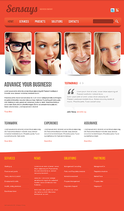 Business Wide Templates Drupal Templates website inspirations at your coffee break? Browse for more Drupal #templates! // Regular price: $65 // Sources available: .PSD, .PHP #Business #Wide Templates #Drupal Templates #Drupal