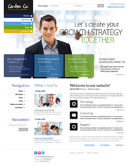 Business Most Popular Wide Templates Drupal Templates website inspirations at your coffee break? Browse for more Drupal #templates! // Regular price: $68 // Sources available: .PSD, .PHP #Business #Most Popular #Wide Templates #Drupal Templates #Drupal