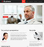 HTML5 JS Animated Template #37130