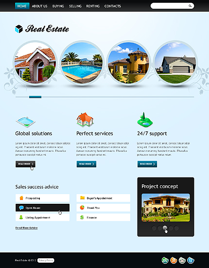 Real Estate Zero Downloads website inspirations at your coffee break? Browse for more HTML5 JS Animated #templates! // Regular price: $65 // Sources available: .HTML,  .PSD, No flv video source files are provided for an intro page; #Real Estate #Zero Downloads #HTML5 JS Animated
