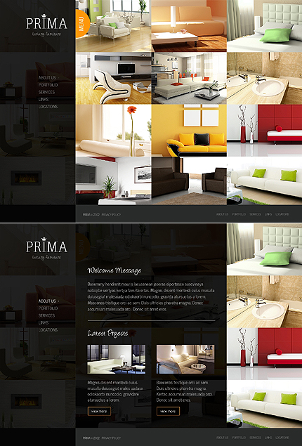 Interior & Furniture Zero Downloads website inspirations at your coffee break? Browse for more JavaScript Based #templates! // Regular price: $68 // Sources available: .HTML,  .PSD #Interior & Furniture #Zero Downloads #JavaScript Based