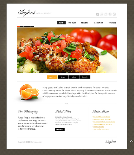 Cafe and Restaurant Zero Downloads Most Popular website inspirations at your coffee break? Browse for more HTML5 JS Animated #templates! // Regular price: $62 // Sources available: .HTML,  .PSD #Cafe and Restaurant #Zero Downloads #Most Popular #HTML5 JS Animated