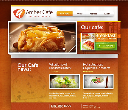 Food & Drink Zero Downloads website inspirations at your coffee break? Browse for more HTML5 JS Animated #templates! // Regular price: $60 // Sources available: .HTML,  .PSD #Food & Drink #Zero Downloads #HTML5 JS Animated