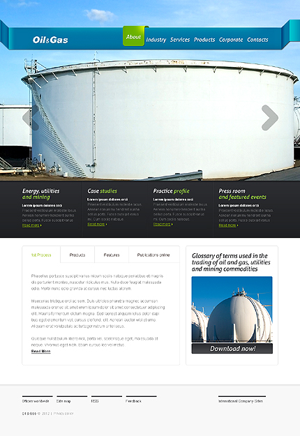 Industrial Zero Downloads Most Popular website inspirations at your coffee break? Browse for more HTML5 JS Animated #templates! // Regular price: $62 // Sources available: .HTML,  .PSD #Industrial #Zero Downloads #Most Popular #HTML5 JS Animated