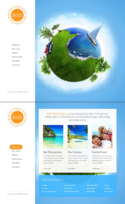 Travel Zero Downloads website inspirations at your coffee break? Browse for more HTML5 JS Animated #templates! // Regular price: $64 // Sources available: .HTML,  .PSD #Travel #Zero Downloads #HTML5 JS Animated