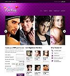 HTML5 Website Template #37534