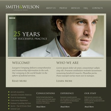 Website Template # 38389