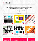 HTML5 JS Animated Template #38847
