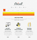 HTML5 JS Animated Template #39159