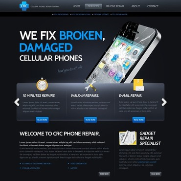 Website Template # 40035