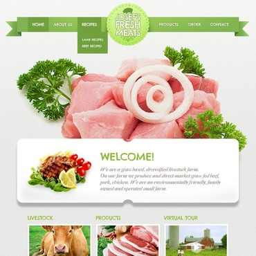 Website Template # 40047