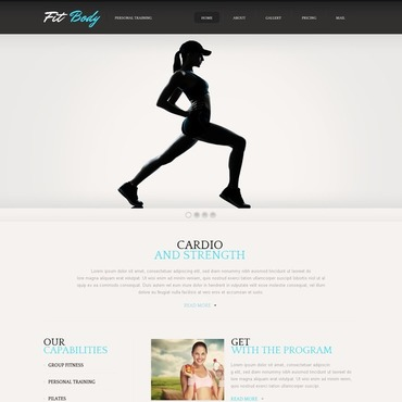 Website Template # 40049