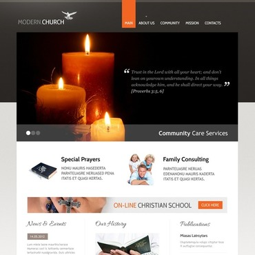 Website Template # 40052