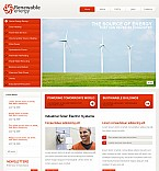 Stretched Flash CMS Theme Template #40063