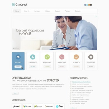 Website Template # 40086