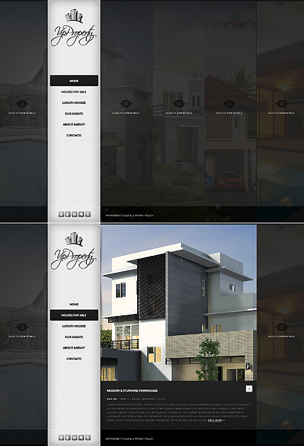 Real Estate Most Popular website inspirations at your coffee break? Browse for more JavaScript Based #templates! // Regular price: $68 // Sources available: .HTML,  .PSD #Real Estate #Most Popular #JavaScript Based