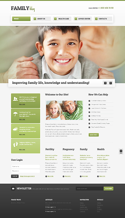 Family Most Popular website inspirations at your coffee break? Browse for more Drupal #templates! // Regular price: $66 // Sources available: .PSD, .PHP #Family #Most Popular #Drupal
