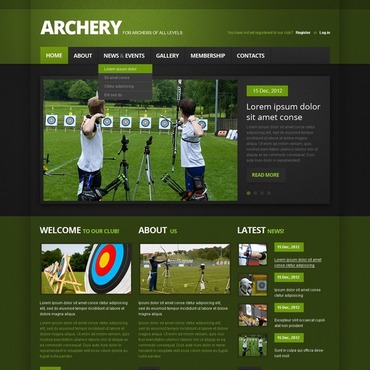 Website Template # 40595