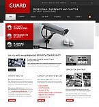 Stretched Flash CMS Theme Template #40637