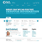 PRO Website Template #40680