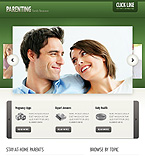 Facebook Static Theme Template #40818
