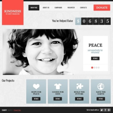 Website Template # 40895