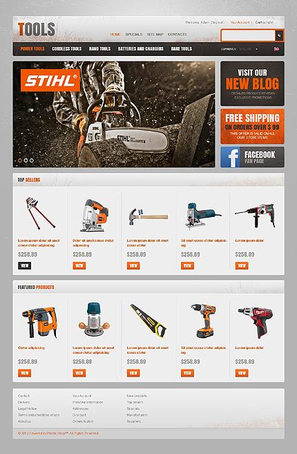 Дизайн сайтов инструментов