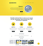 Responsive JavaScript Animated Template #40953